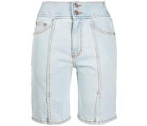 Shorts mit Schlitz