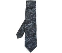 Krawatte mit marmoriertem Effekt
