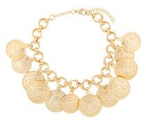 Halskette mit Münzanhängern