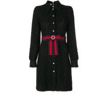 'Cluny' Kleid mit Webstreifen