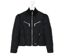 paneled padded jacket