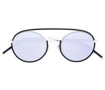 Sonnenbrille mit Kontraststeg