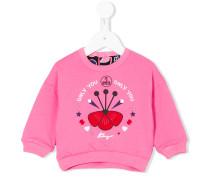 Wendbares Sweatshirt mit Print