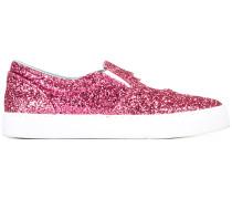 '#findmeinwonderland' Slip-On-Sneakers