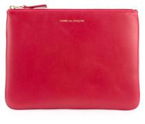 Colour Plain coin purse - unisex - Leder