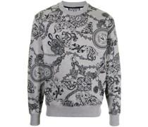 Sweatshirt mit barockem Print