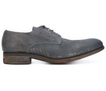 Derby-Schuhe im Used-Look - men - Leder - 41