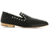 studded pointed slippers