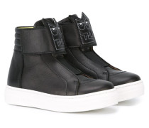 'Bug Eyes' High-Top-Sneakers
