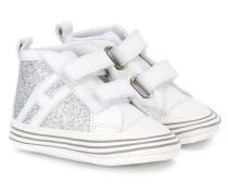 Sneakers mit Glitzer - kids - Leder/PVC/rubber