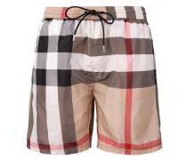 Nova Check swim shorts - men - Polyester - L