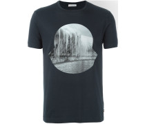 T-Shirt mit Eisberg-Print