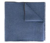 logo pattern knit scarf