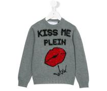Kiss the Plein jumper - kids - Baumwolle - 12 J.