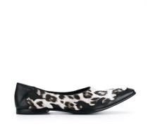 Slipper mit Leoparden-Print