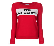 Pullover mit 'Saint Germain'-Slogan