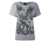 'Animals' T-Shirt mit Print