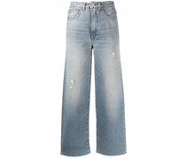 Weite Distressed-Jeans