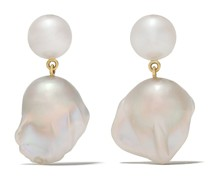 14kt 'Venus Blanc' Gelbgoldohrringe