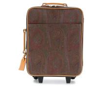 paisley print suitcase