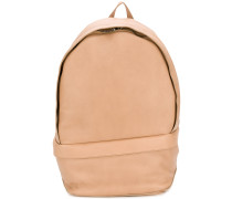 laced strap backpack
