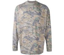 Pullover mit Laub-Print