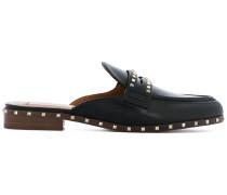Rockstud slip-on loafers