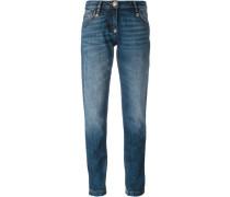Boyfriend-Jeans mit Tragefalten - women