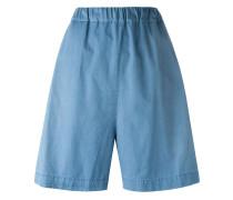Jeans-Bermudas mit elastischem Bund - men