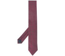 Krawatte mit Quadratmuster