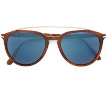 OversizedSonnenbrille mit blauen Gläsern