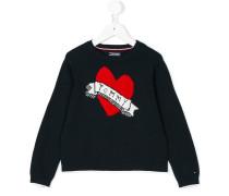 Pullover mit Herz-Logo
