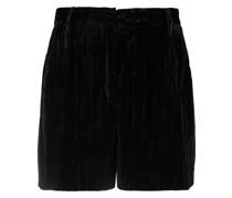 Neo-Noir Samt-Shorts