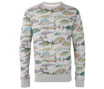 Sweatshirt mit Fisch-Print - men - Baumwolle - S