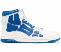 colour-block high-top sneakers
