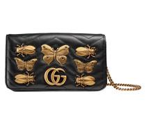 GG Marmont animal studs mini bag