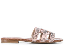 Sandalen mit Schlangen-Effekt