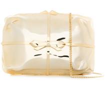 present bow clutch bag