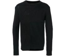 Pullover mit Einsätzen