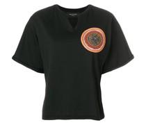 T-Shirt mit Perlen-Stickerei