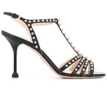 T-Riemen-Sandalen mit Nieten