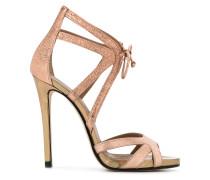 Sandalen mit MetallicEffekt