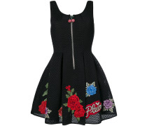 Loredan rose patch dress