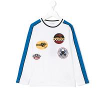 Langarmshirt mit LogoPatches