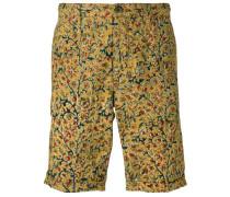 Chino-Shorts mit Blumenmuster - men - Baumwolle