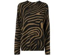 Robinne Pullover mit Zebra-Print