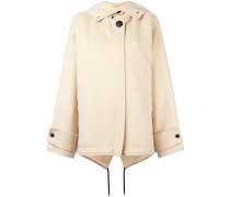 hooded oversized coat