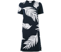 - Kleid mit Palmenblattmuster - women
