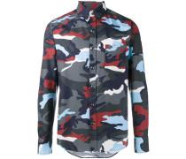 - Hemd mit Camouflage-Print - men - Baumwolle - 3