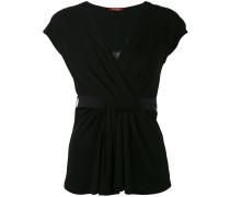 - T-Shirt mit V-Ausschnitt - women - Viskose - L